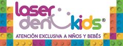 Logo laserdentkids clinica dental en Arequipa